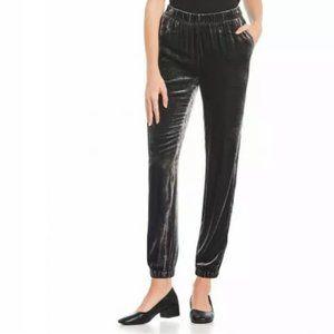 Eileen Fisher Slouchy Velvet Jogger Pants